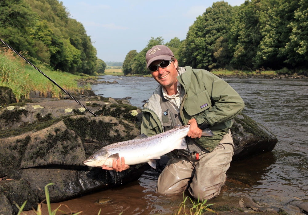 Irish Salmon Fishing River Mourne Foyle